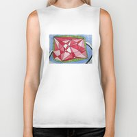 ruby Biker Tanks featuring Ruby by Rainearts