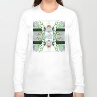 holographic Long Sleeve T-shirts featuring SCISSOR DREAM by Riot Clothing