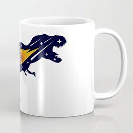 Dinosaur and meteorite strike #society6 #decor #buyart #artprint Coffee Mug