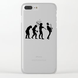 EVOLUTION OF JAZZ Clear iPhone Case