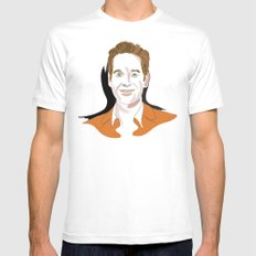 Paul Rudd Mens Fitted Tee SMALL White