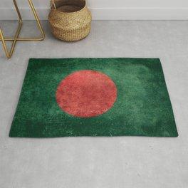Flag of Bangladesh, Vintage Retro style Rug