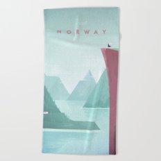Norway Beach Towel