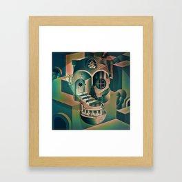 Utopia Skull 1 Framed Art Print