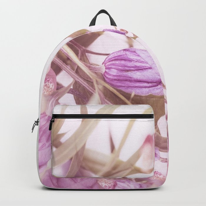 Autumn Bouquet In Purple Shades #society6 #buyart Backpack