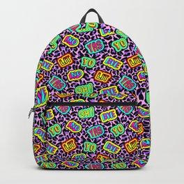 Sticker neonpard Backpack