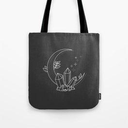 Crystal Moon Tote Bag