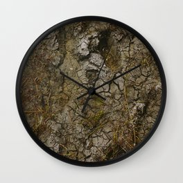 muddy puddle Wall Clock