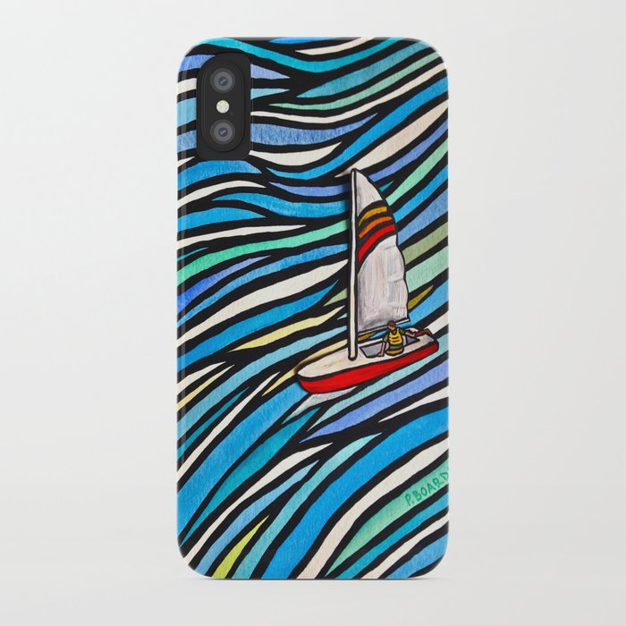 Wind Over Water iPhone Case