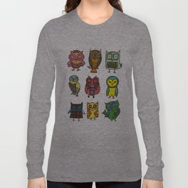 Owlies Long Sleeve T-shirt