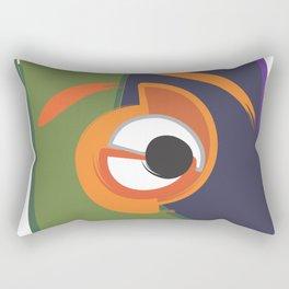 cubist eye no 1 Rectangular Pillow