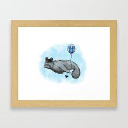ManatEAR Framed Art Print
