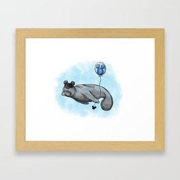 ManatEAR Framed Art Print