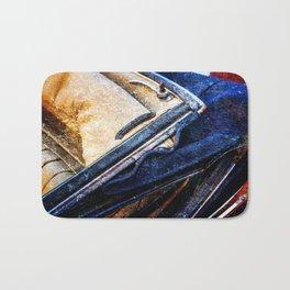 Vintage Car - Velvet Luxury Bath Mat