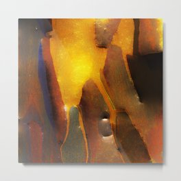 My New ABNORMAL: An Abstract Painting Metal Print