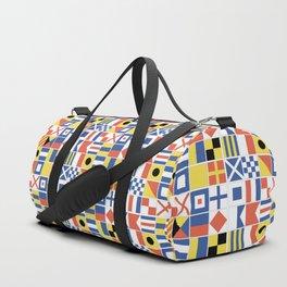 Nautical Flags Duffle Bag
