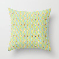 pixel art Throw Pillows featuring Pixel by Colocolo Design | www.colocolodesign.de