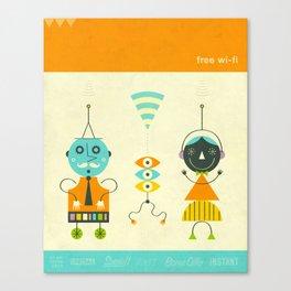 FREE Wi-Fi Canvas Print