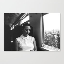 genoa to portofino by rail Canvas Print