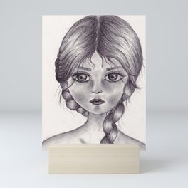 HoneyGirl Mini Art Print