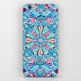 Folk mandala iPhone Skin