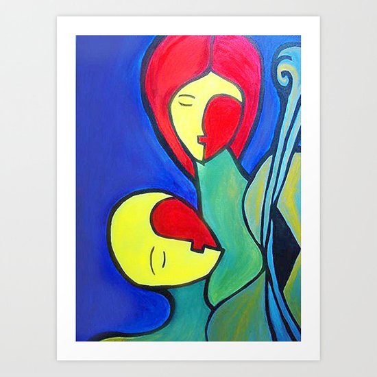 Triumph of Love (ORIGINAL SOLD) Art Print