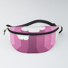 Floral Lines Fanny Pack
