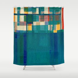 Olympic Diving Shower Curtain