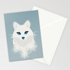 Arctic Fox Princess Stationery Cards