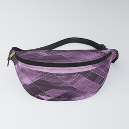 Abstract violet pattern Fanny Pack