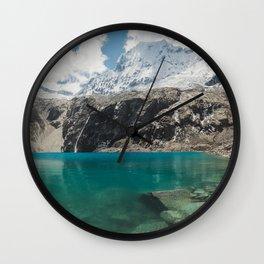 Laguna 69, Peru Wall Clock