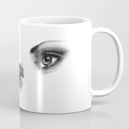 Female Eyes Coffee Mug