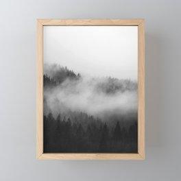 Foggy Forest Framed Mini Art Print