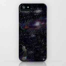 This Life Is Beautiful, With the Colors of The Universe iPhone Case
