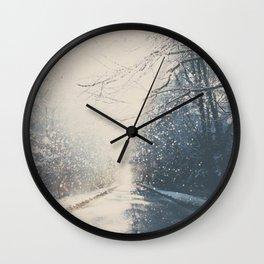 driving home for Christmas ... Wall Clock