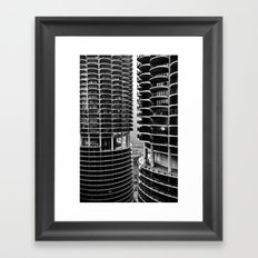 Bertrand's Buildings Framed Art Print