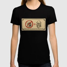 Metal Beard's Rule 1 T-shirt