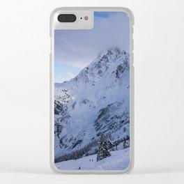 Mt Baker Wilderness Clear iPhone Case