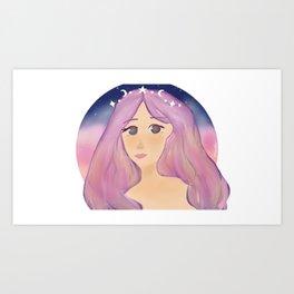 Cosmic Goddess Art Print