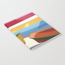 COLORED BOATS Notebook