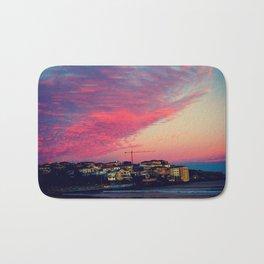Bondi Beach Australia sunset Bath Mat