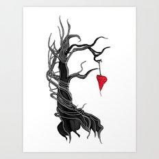 Love, like a tree Art Print
