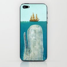 The Whale iPhone & iPod Skin