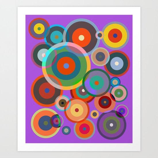 Kandinsky #4 Art Print