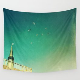 That's Where You'll Find Me V1 Wall Tapestry