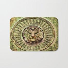 Mausoleum Lion Bath Mat