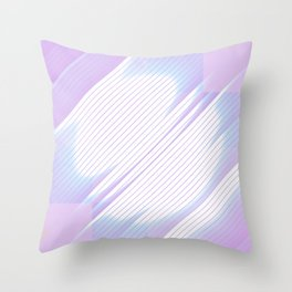 Soulmate - Abstract Geometric Minimalism Throw Pillow