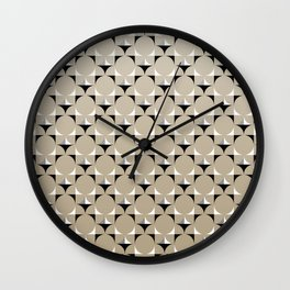 Mod Khaki Wall Clock
