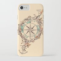voyage iPhone & iPod Cases featuring Bon Voyage by Norman Duenas
