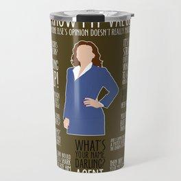 Agent Carter Travel Mug